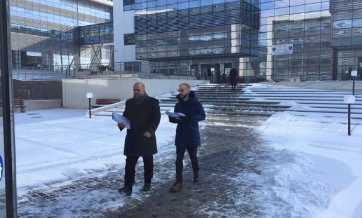Samoopredeljenje predaje tužiaštvu u Prištini krivičnu prijavu protiv Špenda Ahmetija