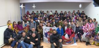 Humanitarna organizacija Srpska solidarnost hranom u Beogradu