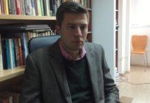 politikolog Stefan Surlić, asistent na Fakultetu političkih nauka u Beogradu.