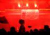 """BEOGRAD, 26. 1. 2019. - Protest """"Jedan od pet miliona"""", posle setnje kroz centralne beogradske ulice, zavrsen je ispred sedista Vlade Srbije gde je ucesnicima podeljen letak koji pokazuje da se predsednik drzave i vladajuce partije Aleksandar Vucic pojavljuje kao jedini kandidat na izbornim listama za predsednika mesne zajednice pa do predsednika drzave. (BETAPHOTO/EMIL VAS/EV)"""