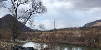 FOTO: Korito reke Ibar između Kosovske Mitrovice i Zvečana/KoSSev