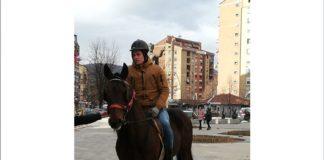 Aleksandar Arsenijević i konj