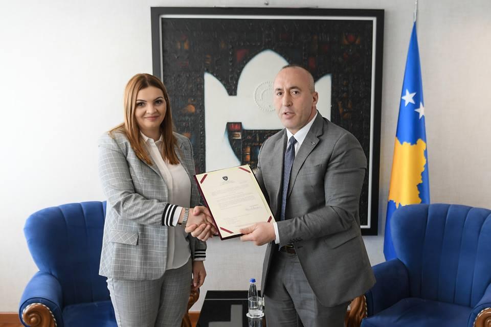 dijana zivic ministarka poljoprivrede Kosova