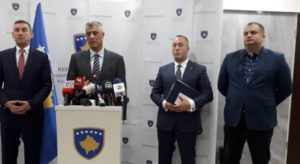 Pregovarački tim Haradinaj Tači Veselji
