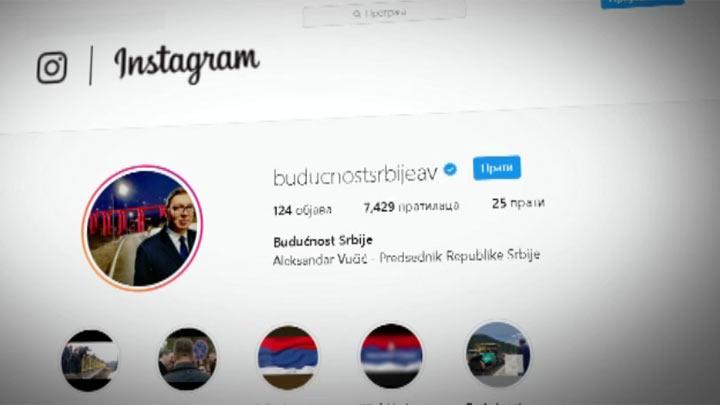 instagram vučić