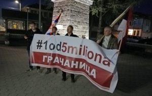 Protest 1 od 5 miliona Gračanica