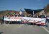 Jarinje Protest