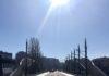 Most na Ibru Kosovska Mitrovica zima