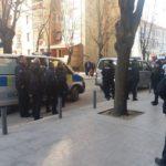 Policija u Lole Ribara kocarnice
