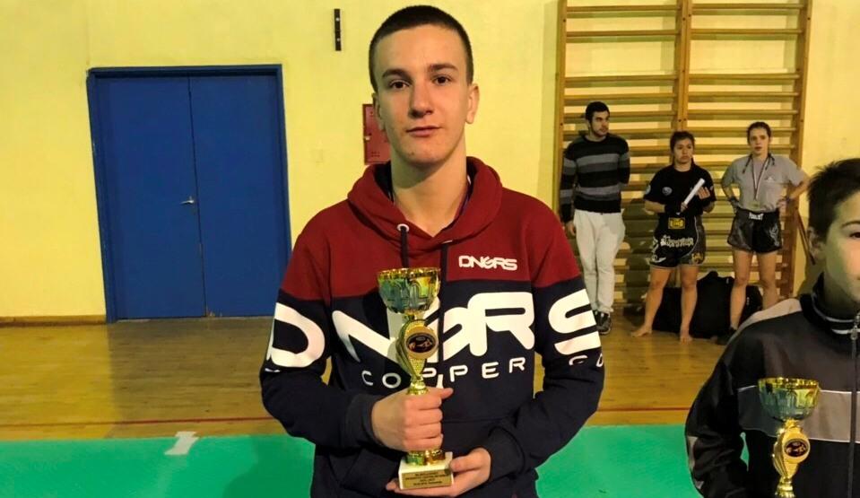 Luka Radević, najbolji kadet na prvenstvu