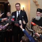 Vučić i Iirinej FOTO: Tanjug/Sava Radovanović