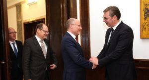 Vučić sa nemačkim poslanicima