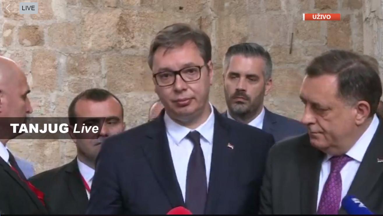 Aleksandar Vučić u Mostaru