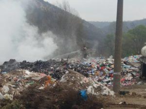 Požar na deponiji kod Remonta