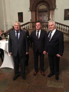 Profesor Stanišić sa Sa akademicima Mariom Plenkovićem i Ludvigom Toplakom