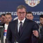 Vučić dočekao Srbe sa KiM