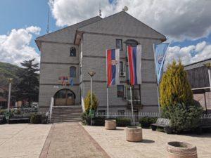 Zgrada opštine Zubin Potok