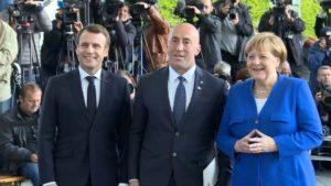Haradinaj, Merkel, Makron