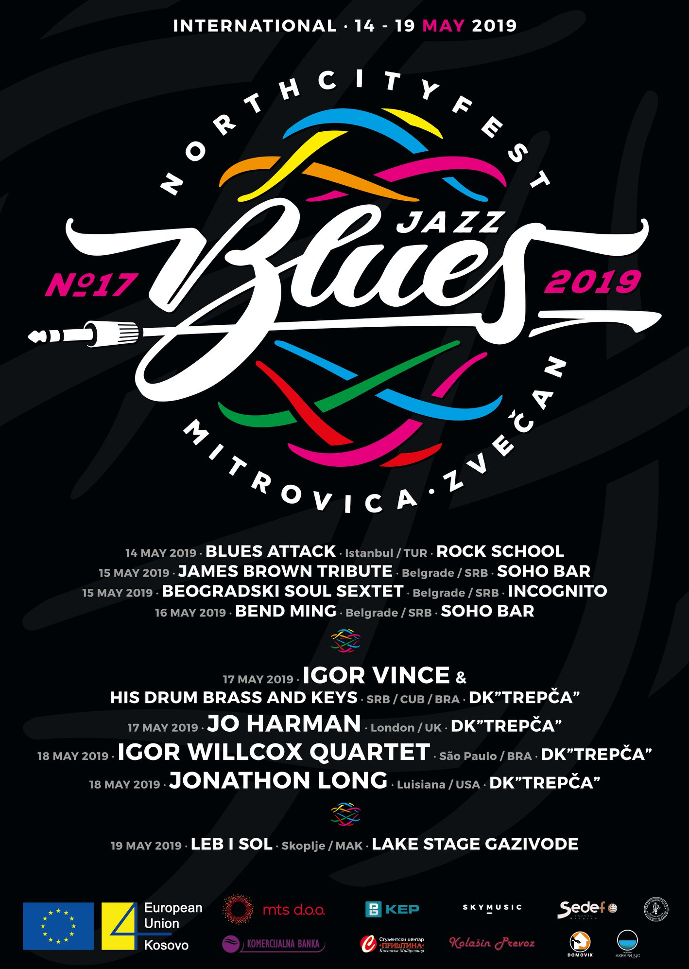 North City Jazz & Blues Festival - Kosovska Mitrovica