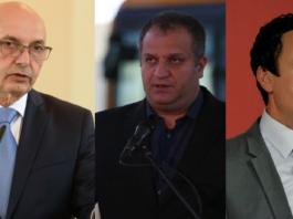 Isa Mustafa, Špend Ahmeti, ALjbin Kurti