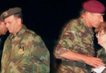 NATO general Majkl Džekson i Svetozar Marjanović