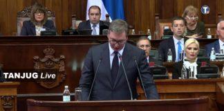 Vučić sednica o Kosovu