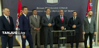 predstavnici Srba sa KiM sa Đurićem