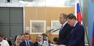 Sergej LAvrov i Miro Cerar