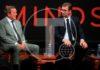 """eograd, 22. maja 2019. - Predsednik Aleksadnar Vucic prisustvuje danas u Beogradu prestiznoj WORLD.MINDS konferenciji, koja okuplja vodece svetske inovatore, naucnke, biznis lidere i umetnike, a koji na inspirativan nacin predstavljaju ideje novog doba. Skupu prisustvuje i bivsi nemacki kancelar Gerhard Sreder. Vucic i Sreder razgovarali su o geopolitici, a razgovor je moderirao izvrsni direktor kompanije """"Ringier AG"""". FOTO"""