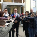 Goran Rakić izjava za medije nakon glasanja za gradonačelnika Severne Mitrovice vanredni lokalni izbori 2019