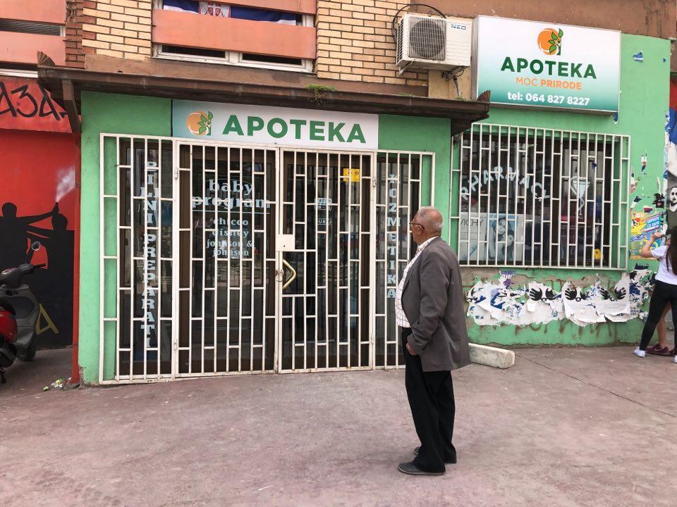 Apoteka u centru Mitrovice