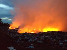 Deponija u plamenu Zvečan
