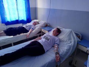 Srpska solidarnost - Dobrovoljno davanje krvi