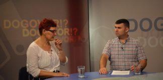Nora Ahmetaj i Stefan Filipović u emisiji Dogovor