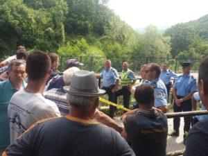 Štrpce protest Obe reke Hidrocentrala