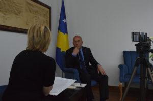 Ramuš Haradinaj inerviju