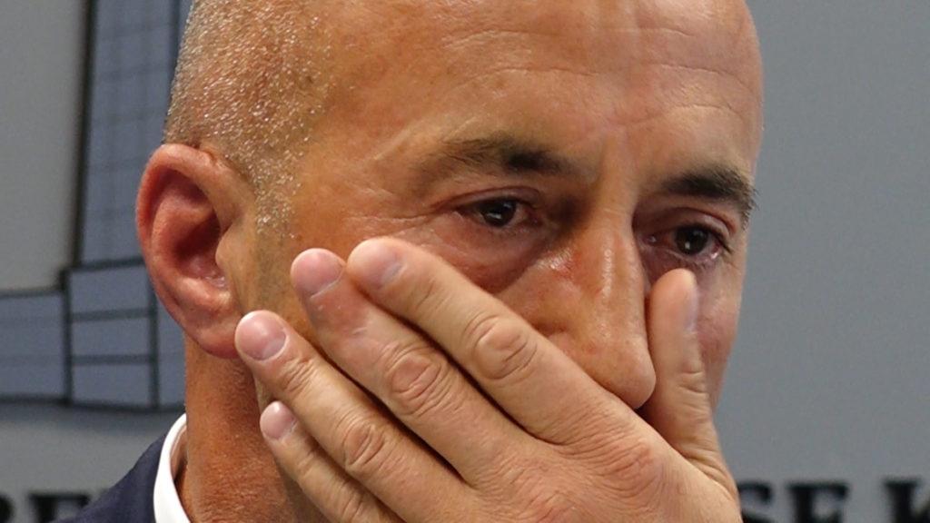 Haradinaj plače