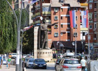 Knez Lazar Spomenik Mitrovica
