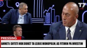Ahmeti Haradinaj Pressing