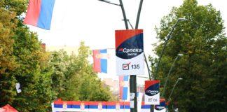 Srpska lista, zastava izbori