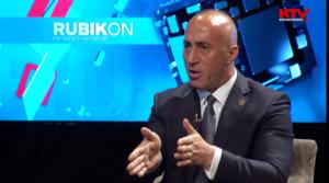 Ramuš Haradinaj Rubikon