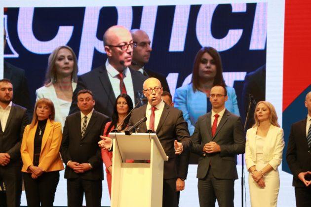 Srpska lista miting Srpska lista kampanja Goran Rakić