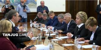 Beograd - Sastanak predsednika Srbije sa Valentinom Matvijenko