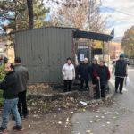 Protest stanara u ulici Filipa Višnjića