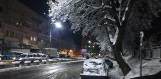 Sneg u Mitrovici