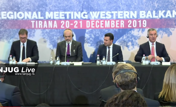 Konferencija za štampu Tirana