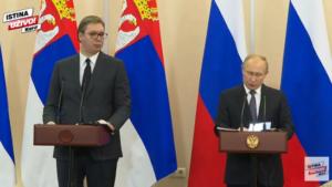 Vučić i Putin