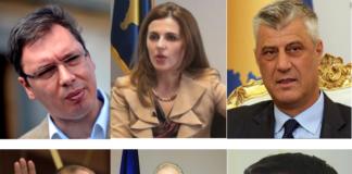 VUčić Čitaku Tači Haradinaj Pacoli Todosijević