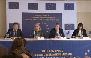 Predstavnici posmatračke misije EU na Kosovu