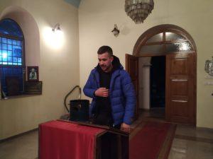 Aleksandar Sentić, prošlogodišnji kum